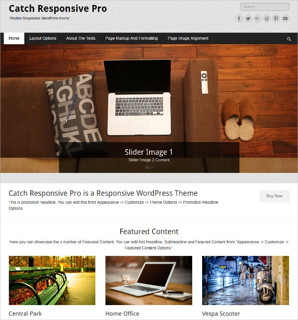 Free IT WordPress Theme