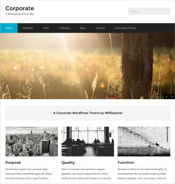 IT Corporate Free Business WordPress Theme