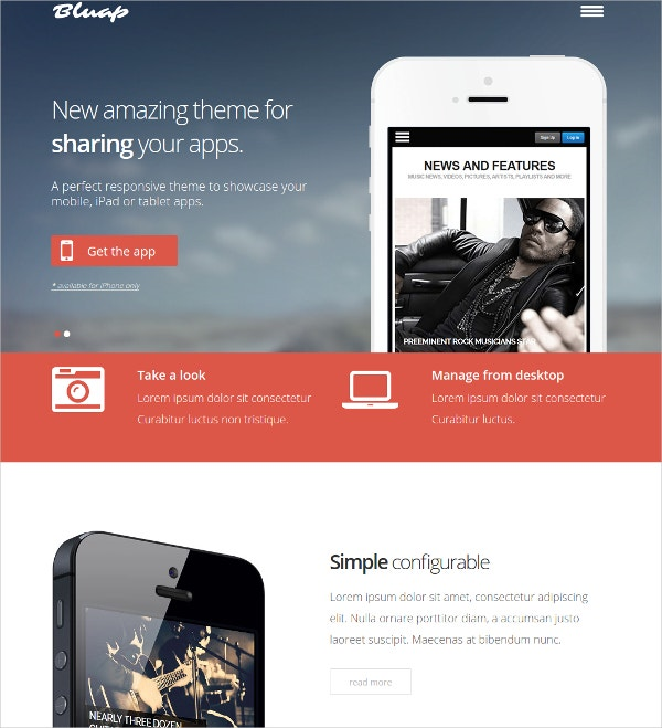 Impressive App Showcase WordPress Themes
