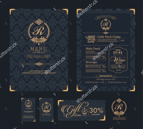 elegant menu template 19 free psd ai vector eps format download