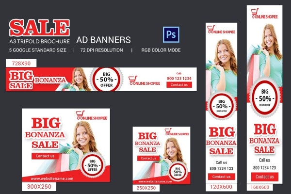 Sales Ads Banner Templates