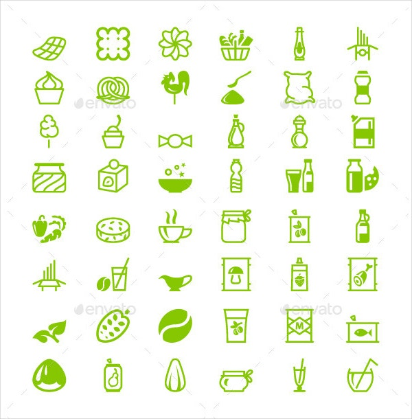 green restaurant icon