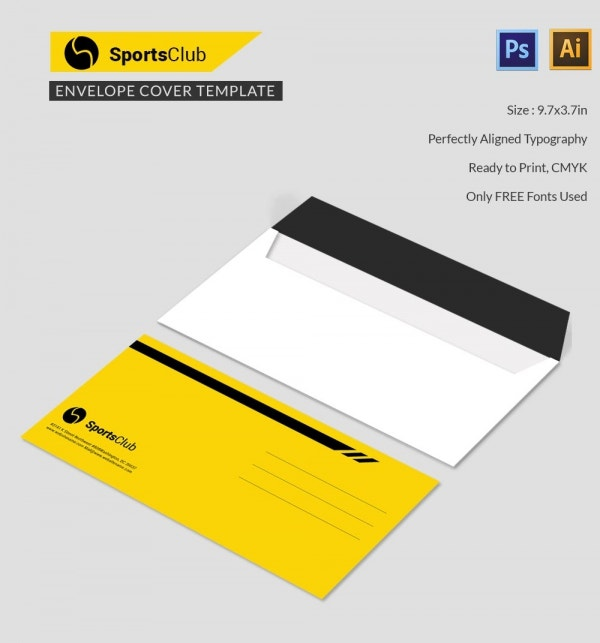 sports club envelope