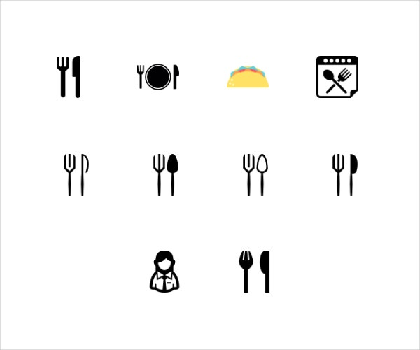 11 Restaurant Icons