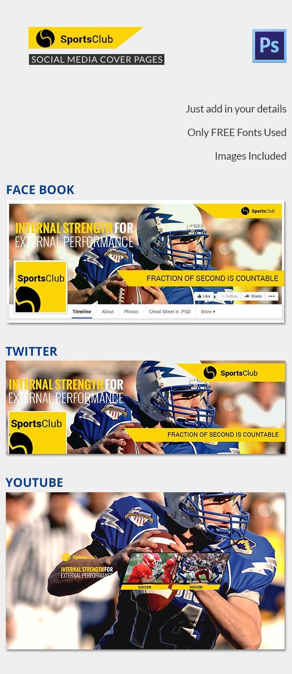 Sports Club Social Media Cover