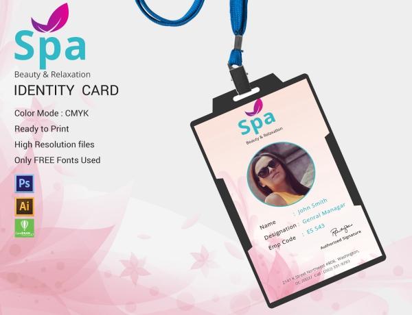 spa identity card