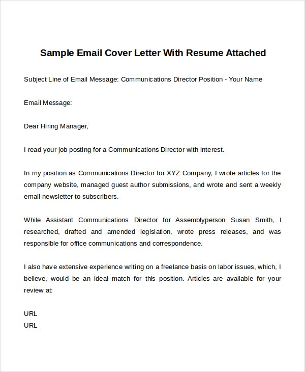 Template Of Publishing Cover Letter