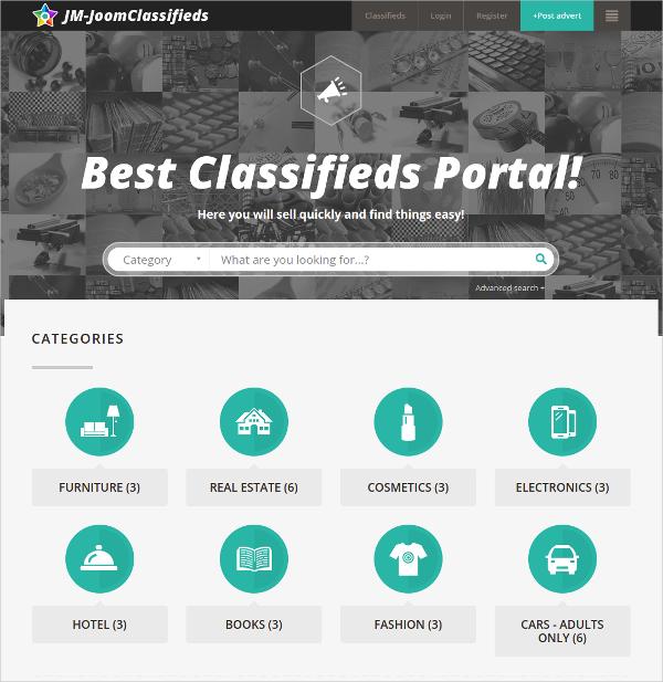 joomla Business Directory Website Template $48
