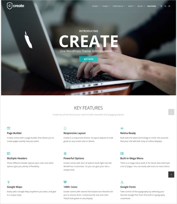 Multipurpose Business Directory WP Theme $59