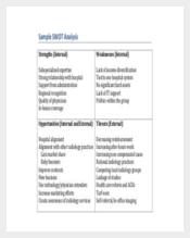 Healthcare SWOT Analysis PDF Download