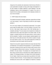 SWOT Analysis of Employee Engagement PDF Download