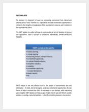 Project Management SWOT Analysis PDF Format