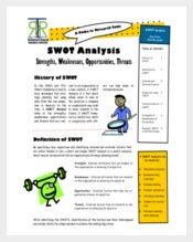 SWOT Analysis in Marketing Strategy PDF Format