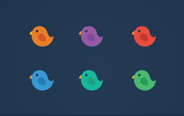 Round Bird Logo