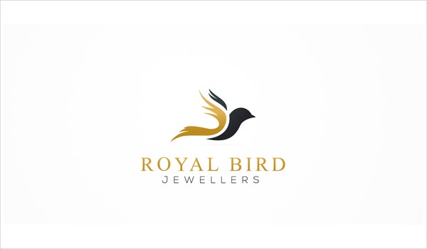 designed bird logo