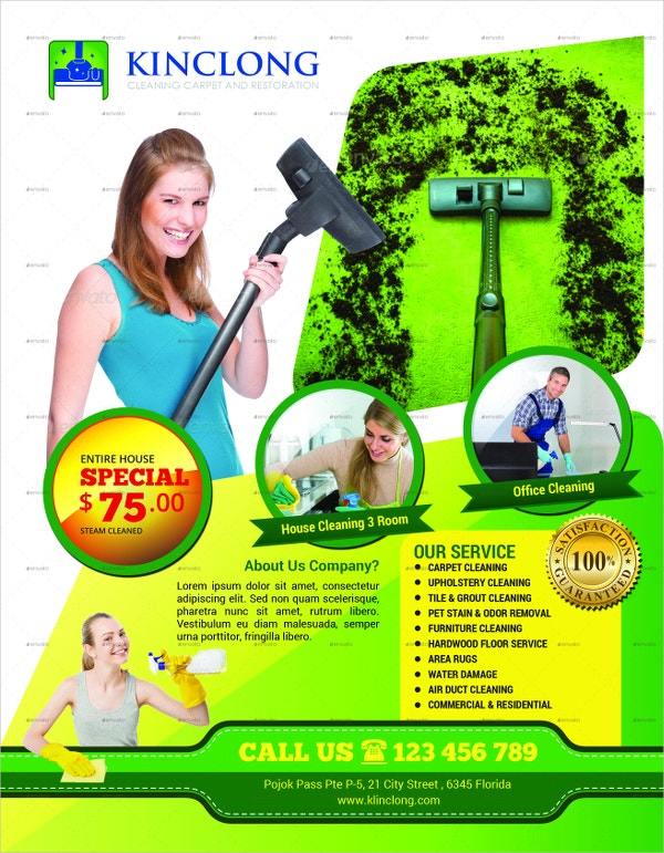 21+ Cleaning Service Flyers - Free PSD, AI, EPS Format Download ...