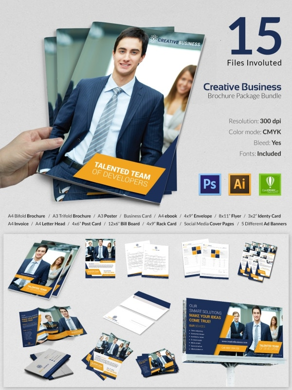 15 Creative Business Templates Bundle