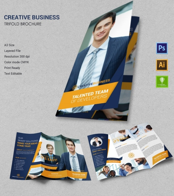 Creative Business Tri-Fold Brochure