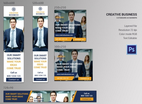 Creative Business Banner Ads