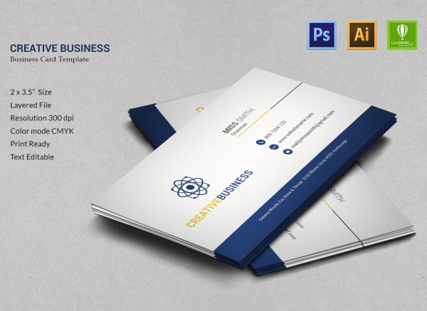 Creative Business Business Card