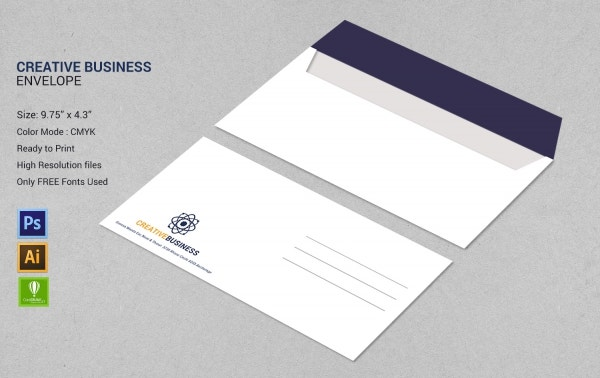 Creative Business Envelope
