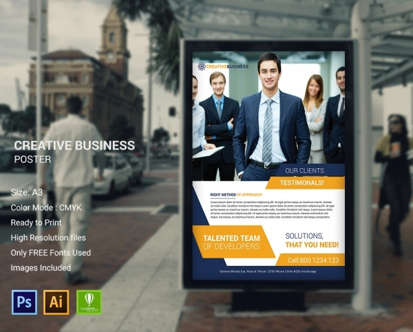 Creative Business Poster