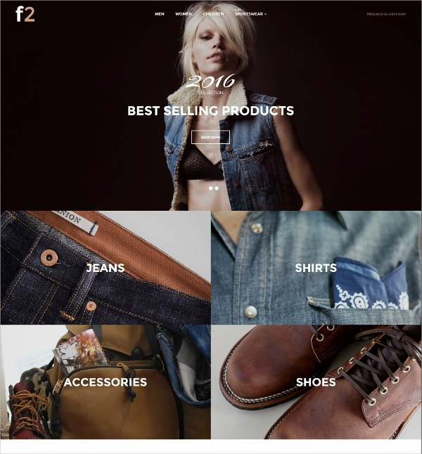 Fashion Designer Website Template $179