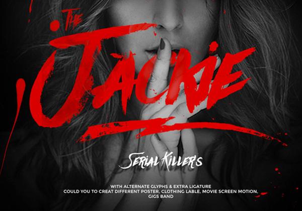 Jackie Tattoo Font