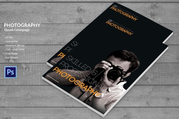 Photography Ebook cover page