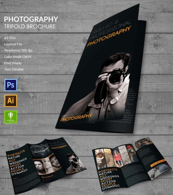Photography Tri-fold