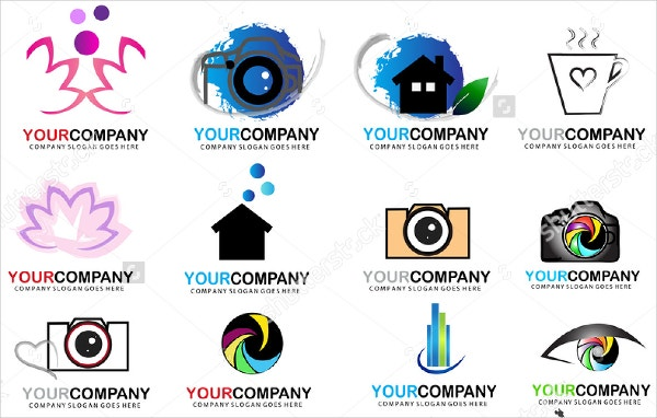 business icon logo collection set