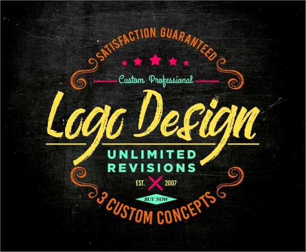 custom logo design template