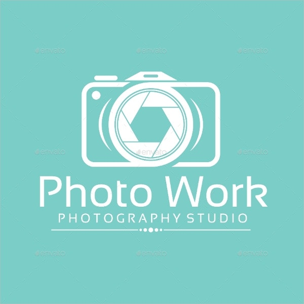 vector photography business logo
