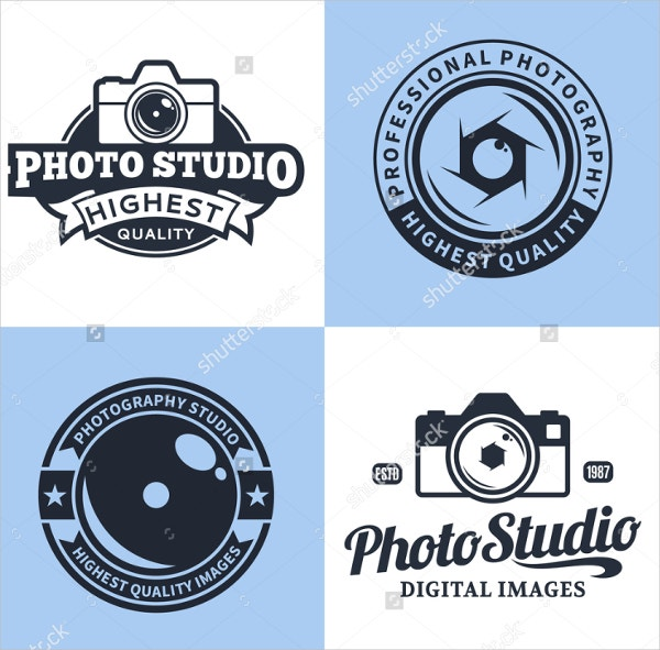 vector photography logo design