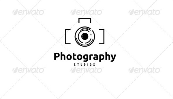 printable photography logo design