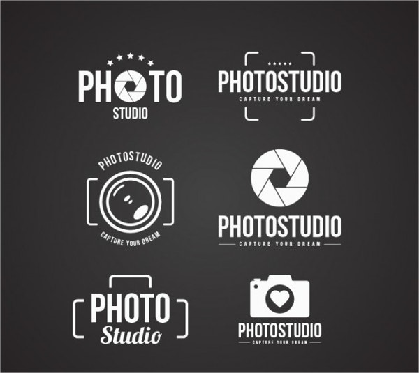 vector photostudio logo design