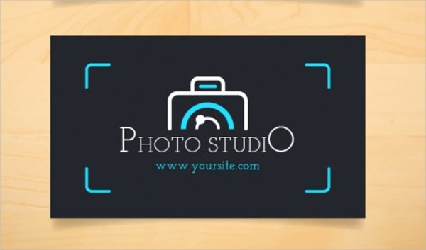 Vector Dark Business Camera Logo Design