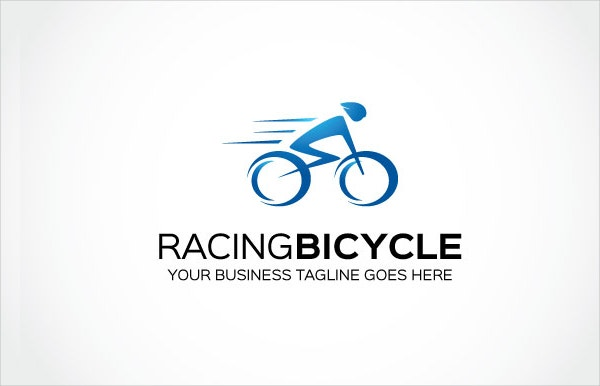 Blue Bike Logo