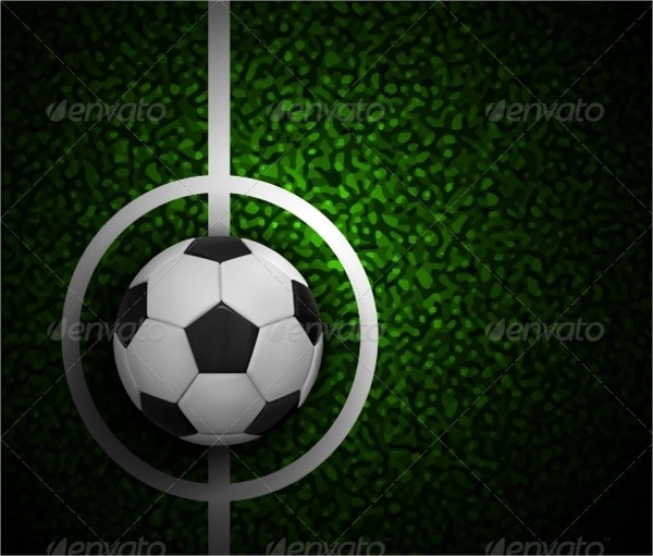 football field with ball and grass texture