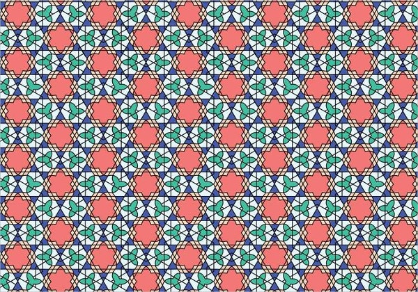 moroccan geometric pattern
