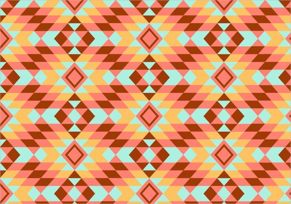 kilim geometric pattern