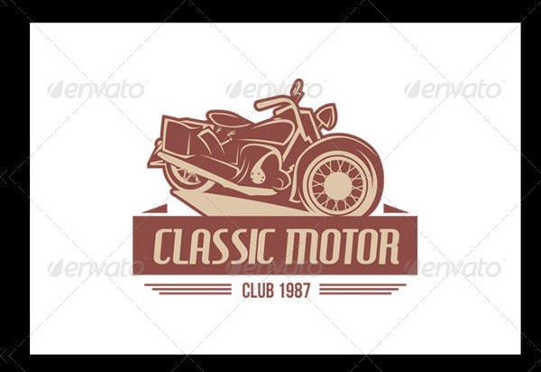 Retro Bike Logo