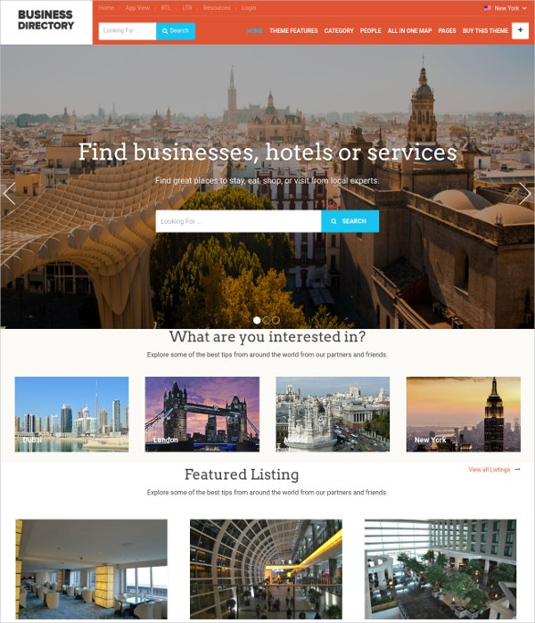Business Directory WordPress Theme