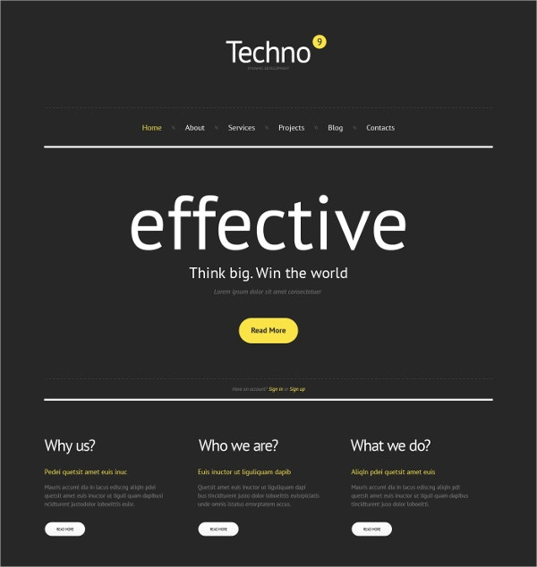 Business Consulting Agency WordPress Theme $75