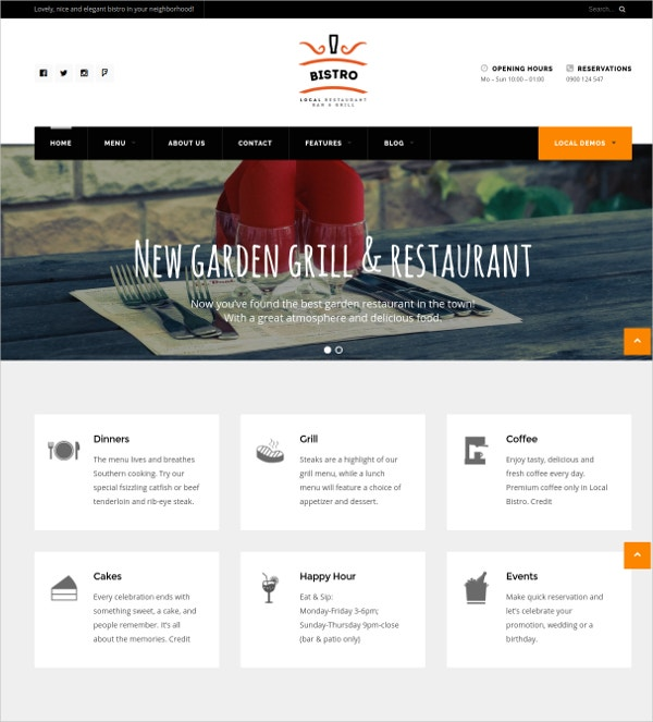 WordPress Theme For Small Businesses $49