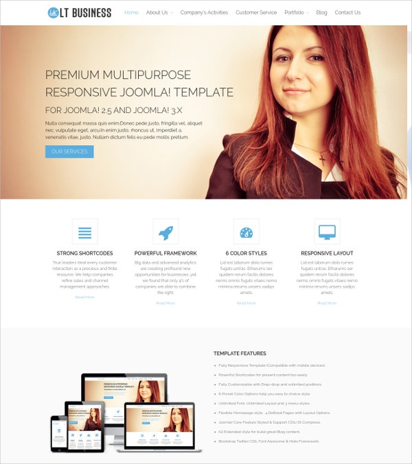 Business & Corporate Agencies WordPress Theme $29