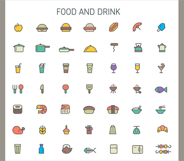Ultimate Food Icons