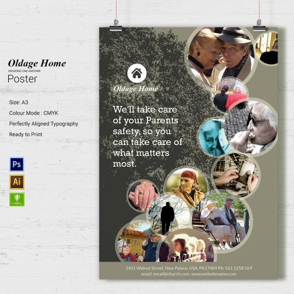 Old Age Home Poster
