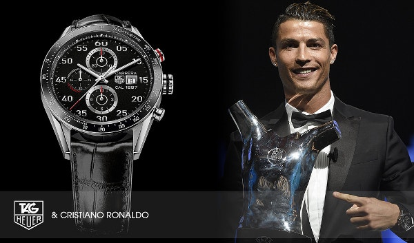 Tag Heuer & Cristiano Ronaldo