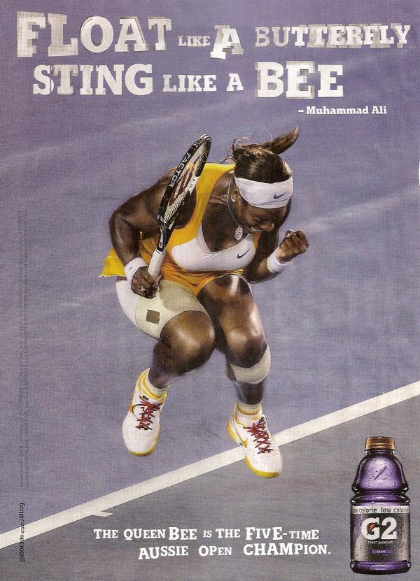 Gatorade & Serena Williams